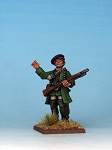 MT0001 - British Ranger Officer 28mm sized metal figure, supplied unpainted. (PREORDER)
