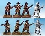 NS-MT0006 - British Regulars in Campaign Dress (8)  (PREORDER)