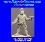 BG-APC163 Apocalypse: Survivor with Mecha-arm (1)