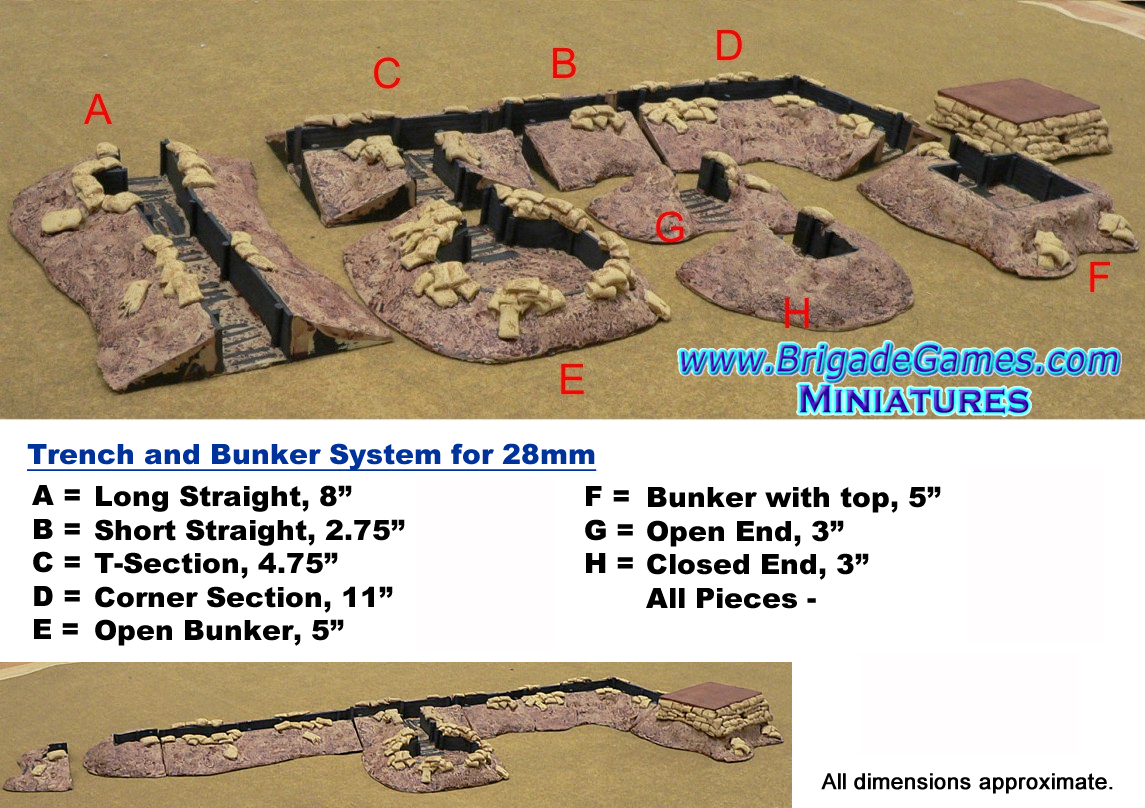 Trench and Bunker System (SPECIAL)