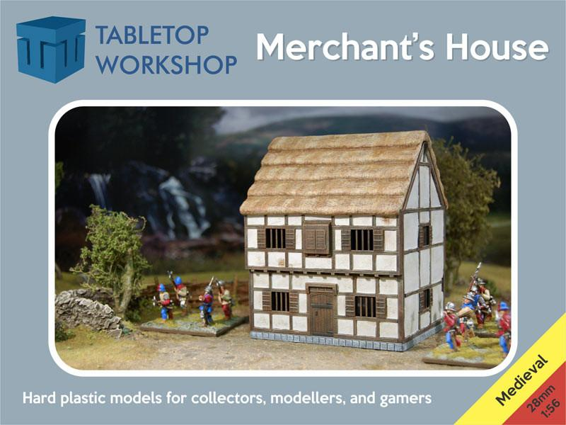Maerchant's House Kit (28mm scale hard plastic)