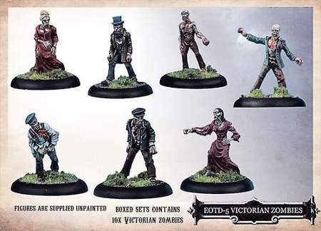 EOTD-05 Victorian Zombies - Boxed Set - Empire of the Dead