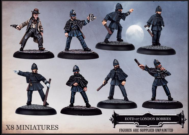 EOTD-07 London Bobbies - Boxed Set - Empire of the Dead