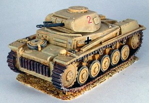 German Panzer II F
