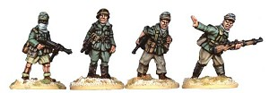 SWW005  Deutches Afrika Korps Officers - N.C.O.s (4)