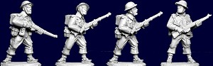 SWW132  British and Commonwealth Riflemen I (4)