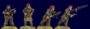 SWW167  British Airborne Command and Characters (4)