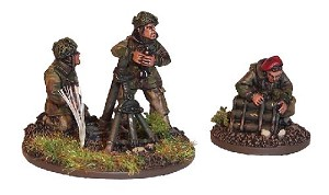 "SWW177  British Airborne 3"" Mortar and 3 crew"