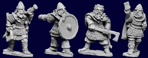 VIK008 - Viking Hirdsmen Command (4)