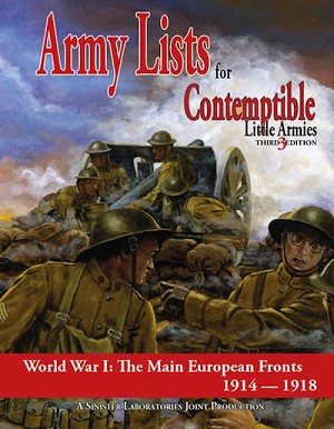 Contemptible Little Armies - Army Lists 1 (European Theatre)