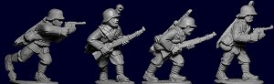 Chinese Riflemen with Big Swords II - German Equipped (4)
