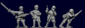 Chinese Riflemen Command II - German Equipped (4)