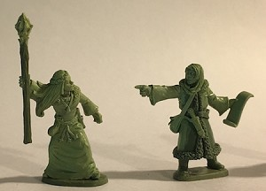 BG-FAC001-2  Female Wizard and Apprentice - Adventurers of the North Range