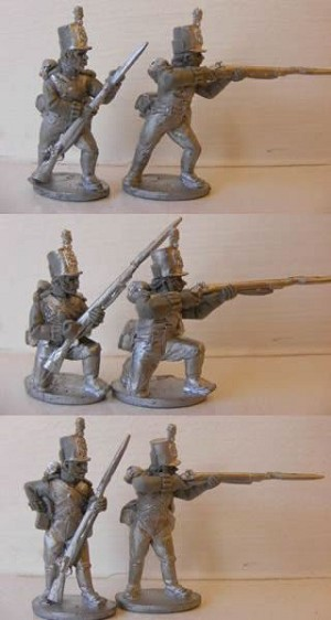 British Infantry - Centre Co. Skirmishing - stovepipe shako (1 of 6 variants)