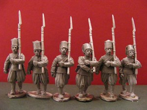 BG-NMO010  Nizam-i-Jedid Infantry Marching (all 6 variants)