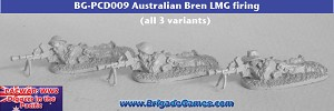 Australians in the Pacific - Bren LMG firing - Slouch Hats (2)