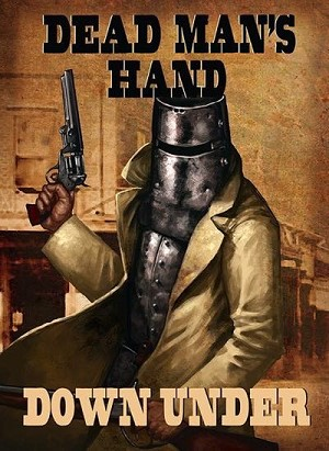 Dead Man's Hand Down Under source book and card deck by Great Escape Games