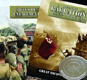 Rules of Engagement Rule Book plus Operation Bagration Supplement plus template