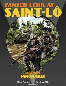 Fireball Forward WW2 Scenario Book Panzer Lehr at Saint Lo