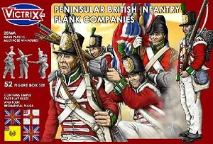 Victrix Peninsula British Infantry Flank Company