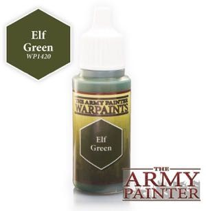 Army Painter Warpaints: WP1420 Elf Green (18ml)
