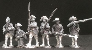BG-AWI013 American Militia in MPC coats (6) - Skirmishing