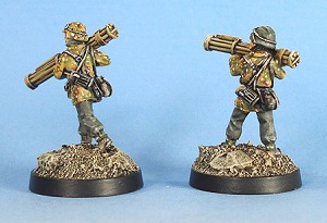 German Panzergrenadier Luftfaust Gunners (Advancing and Firing)(2)