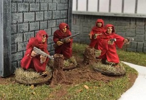 Cultists with weapons sprue (5)