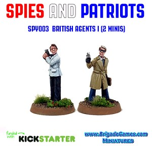 Spies and Patriots - SPY003  British Agents I (2)