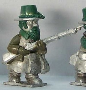Gnome Wars Northern Americans (Union) Iron Brigade Riflemen Advancing