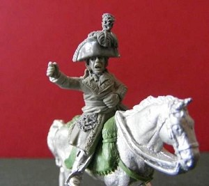 French General Mounted on Horse (1)