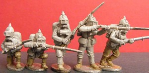 Steampunk: Prussian Empire Troopers in Rebreathing Apparatus (5)
