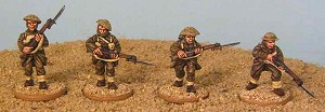 Australian 6th Division - Rifles Advancing (4)