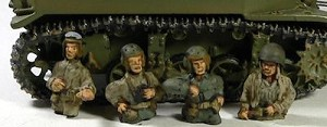US Army Tank Commanders (4)