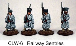 Czech Legion Railway Sentries (4 figs)