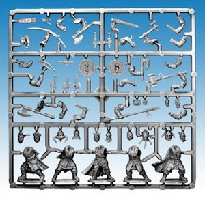 Frostgrave - FGVP04a - Frostgrave Barbarians - Single Frame