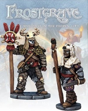 Frostgrave - FGV110 - Witch & Apprentice