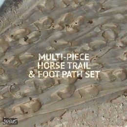 "Rick's Scenics Horse Trail & Foot Path Set (1"" wide)"