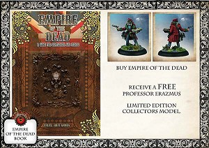 Empire of the Dead Rulebook Deal (includes FREE Limited Edition Figure)