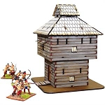 28-AML-103 - Pre-painted Log Timber Block House