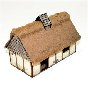28S-DAR-103 Anglo Danish Dwelling Pre-Painted (1/56th)