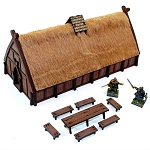 28S-DAR-109 Norse Traders Shop Pre-Painted (1/56th)