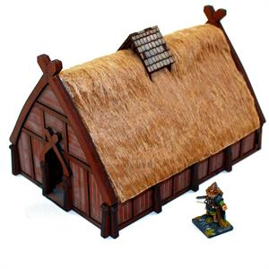 28S-DAR-110 Norse Dwelling Pre-Painted (1/56th)