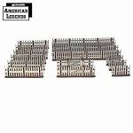 28S-DMH-A13 - Weathered White Picket Fence (1/56th)