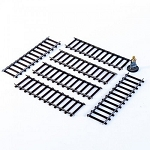 28S-DMH-A20 - 28mm Straight Tracks (1/56th , 28mm)