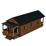 4GD-28-TCW-107  Shotgun House