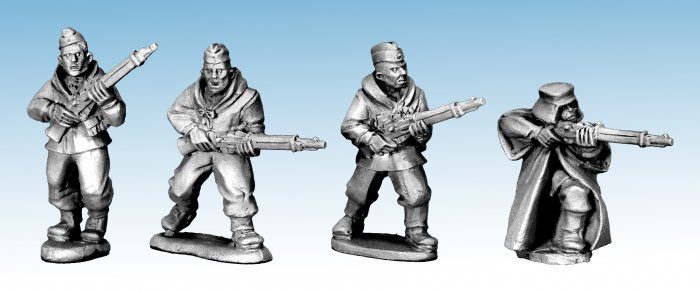 SWW418 - Soviet Scouts with Rifles