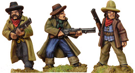 Hired Guns II with Rifles (3)