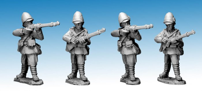 NWF0008 - British Infantry Standing. 2nd Afghan War.(4)