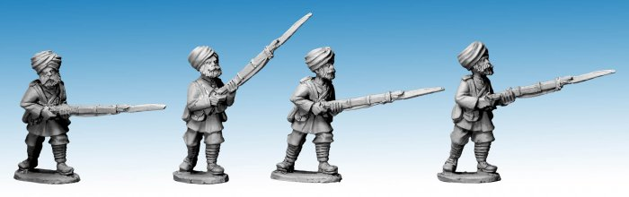 NWF0106 - Sikh Infantry Advancing II. 2nd Afghan War (4)
